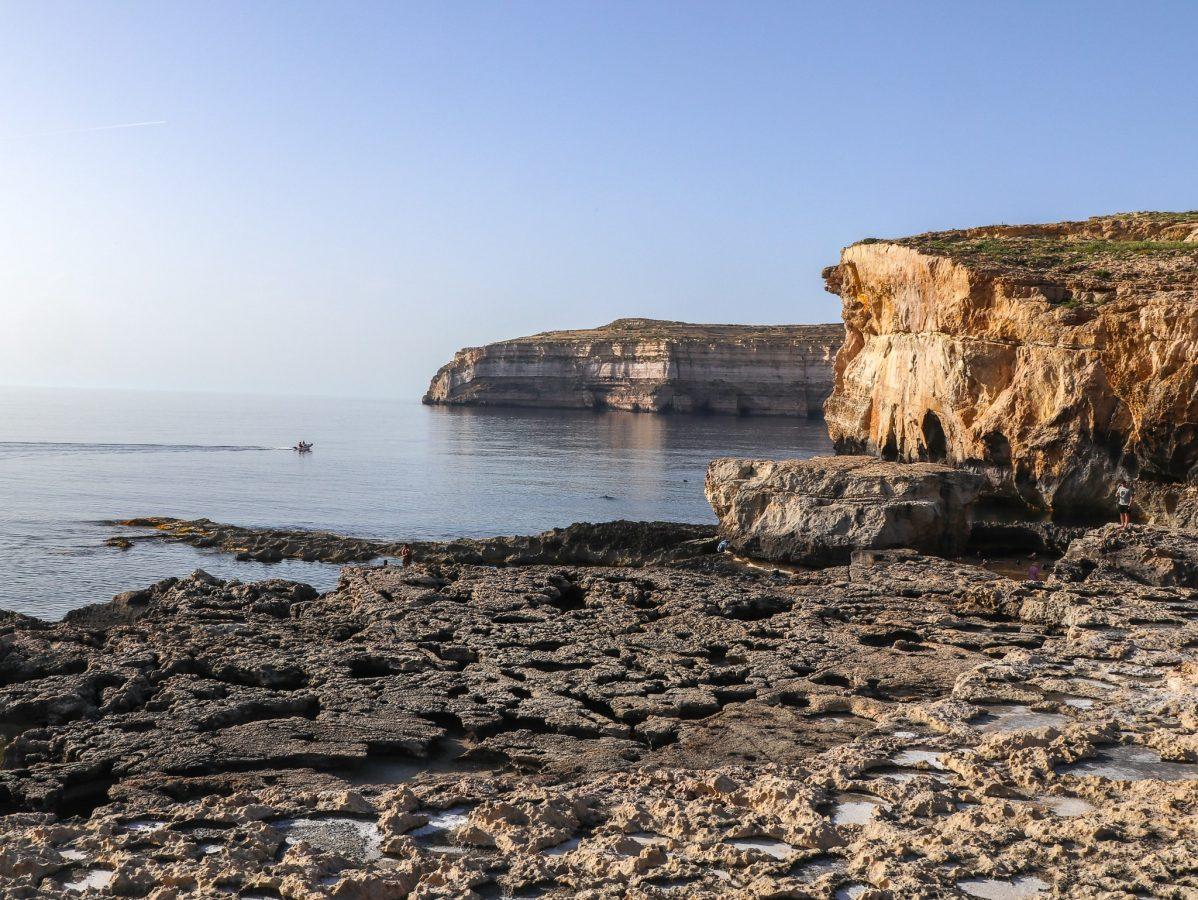 Vista da Baía de Dwejra