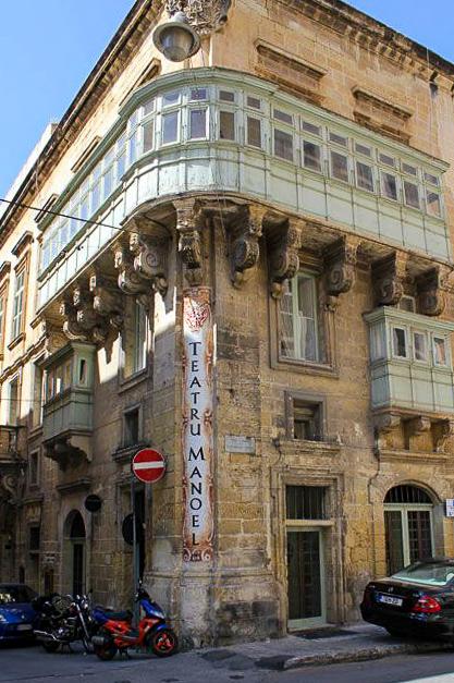 Edificio Teatro Manoel