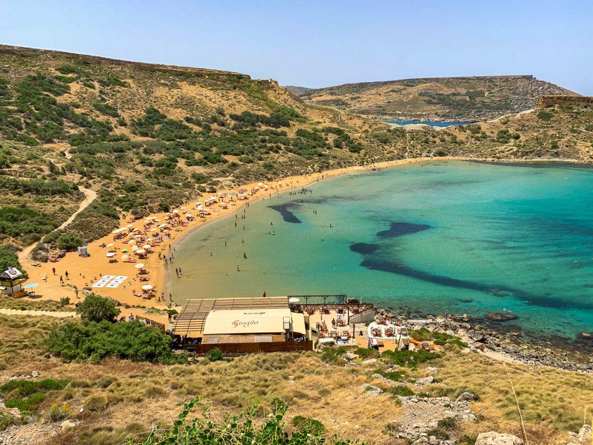Praia Ghajn Tuffieha Bay