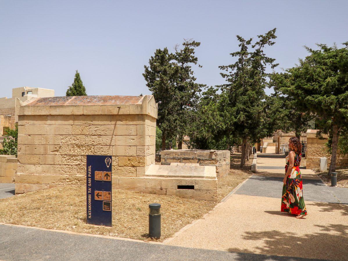 Criptas de Santa Ágatha em Rabat, Malta