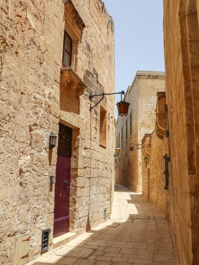 ruelas de Mdina, Malta