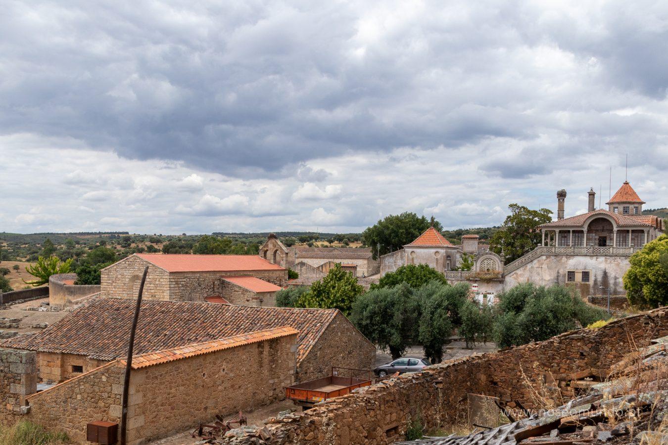 Vista da aldeia de Idanha-a-Velha
