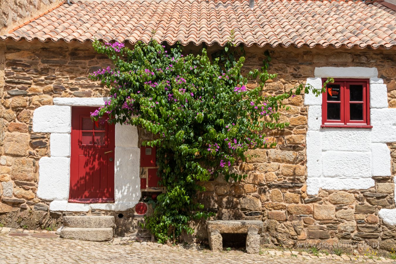 Pormenor de casa na Aldeia de Idanha-a-Velha