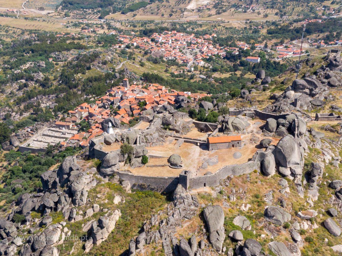 Vista do Castelo Monsanto